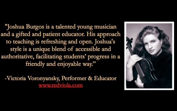 Testimonal by Victoria Voronyansky, Juilliard School Educator and Alumni.
