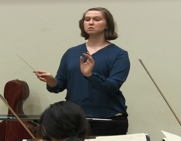 Working with the UNC Symphony Orchestra