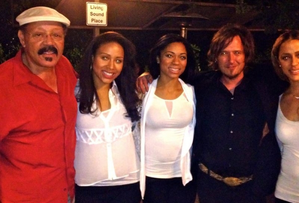 After a show with a female vocal group I musically direct.