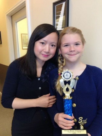 my violin competition winner!