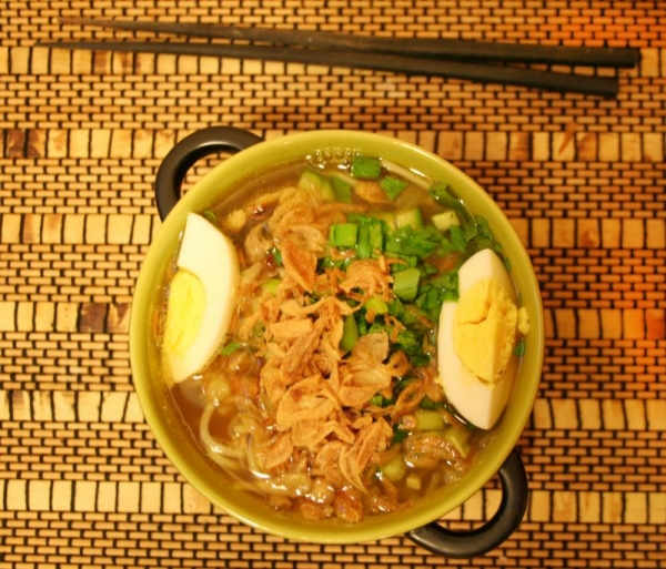 Soto Ayam, Indonesian soup