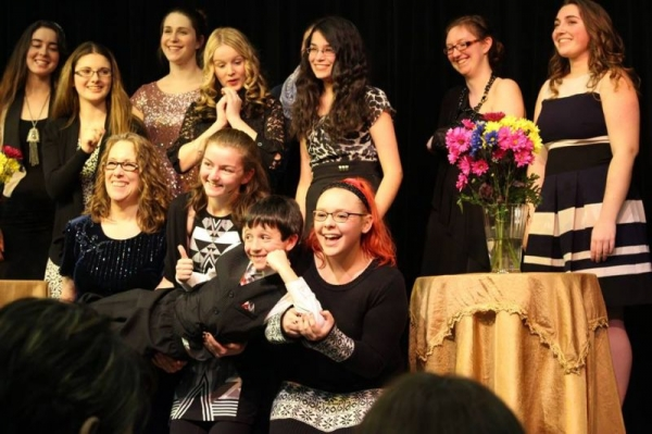 2016 Winter Recital. Me and the gang!