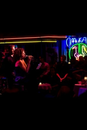 Singing at the FRANK & FRIENDS Concert ,held at BIRDLAND JAZZ CLUB, in NYC.