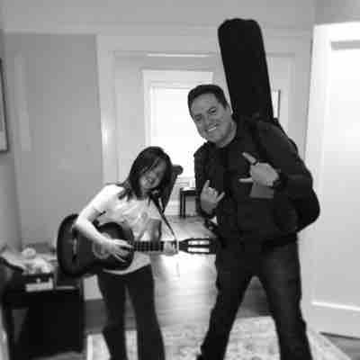 Having some fun at guitar lessons