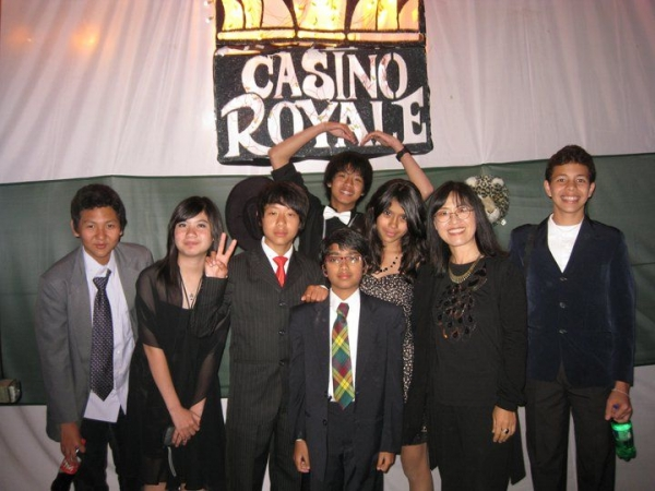 They were my loving 8th graders. We had a pic taken to celebrate and remember our contribution as a Deco team to the MYP Formal, 2011.