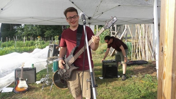 """Playing at """"Grow It Green"""" Morristown Fundraiser."""