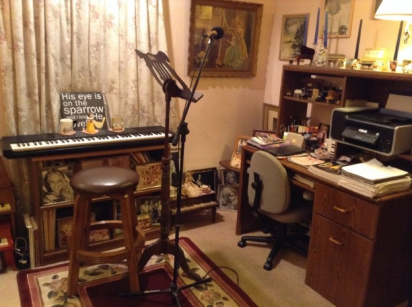 Another angle of my studio in residence.