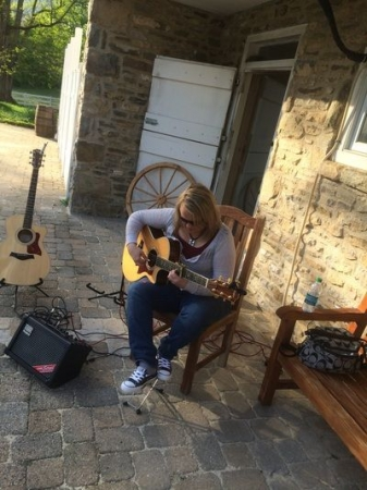 Maria Performing at Springate Vineyards-Harrisburg PA. Sept.2015