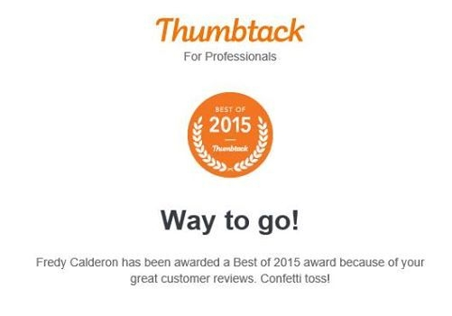 Best of 2015 award because of great customer reviews.
