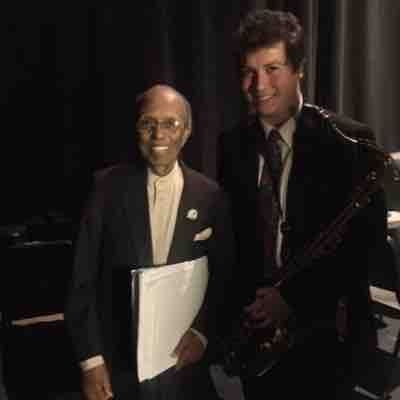 With the great Jimmy Heath