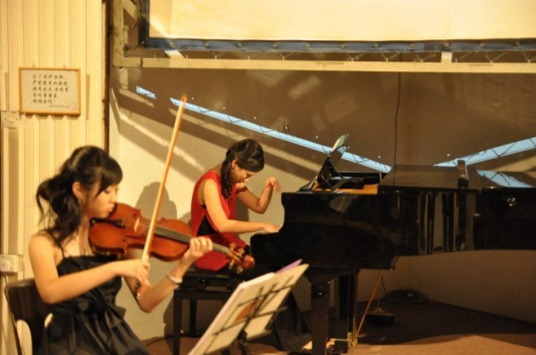 Ensemble performance with an accomplished violinist in Malaysia as a way to give back to the community back in my home country.