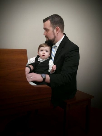 Landon (My son) singing while I accompany him on the piano :)
