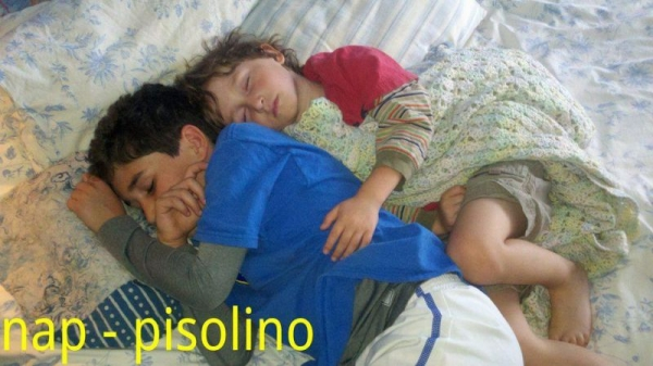 "Do you know how is called in Italian the Show White character of Sleepy? It is called ""Pisolo""... of course!"