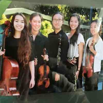 Photo from last year of my chamber music group. We played Oblivion by Piazzolla.