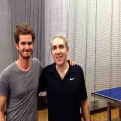 With Andrew Garfield ( Spider-Man)