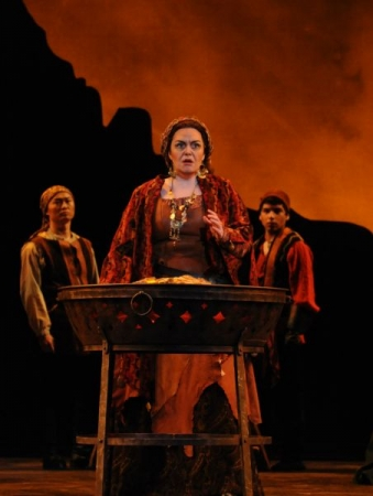 Azucena in Il Trovatore by Verdi with Opera San Jose in 2014.