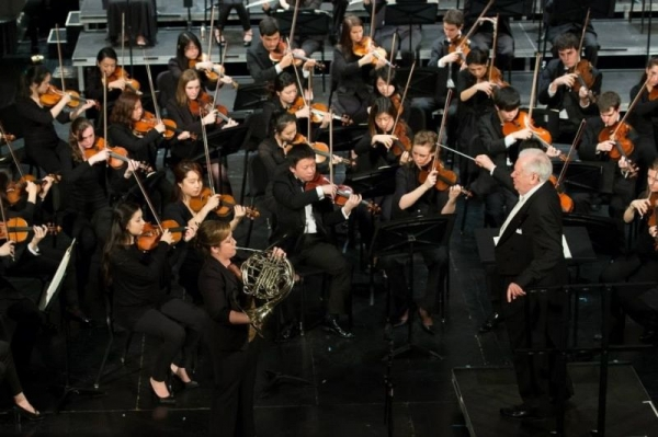 Performing Strauss 1 with the MSM Symphony