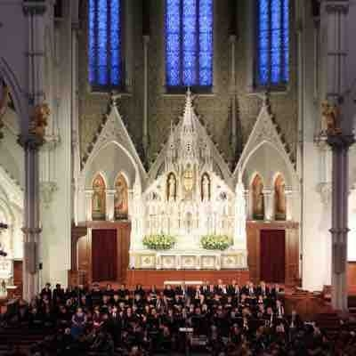 Concert I helped organize and sang in at Holy Cross Cathedral. Performance of Mozarts Requiem. 2014. Attended by over 1200 people.