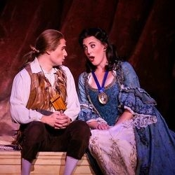 As Pamina in The Magic Flute