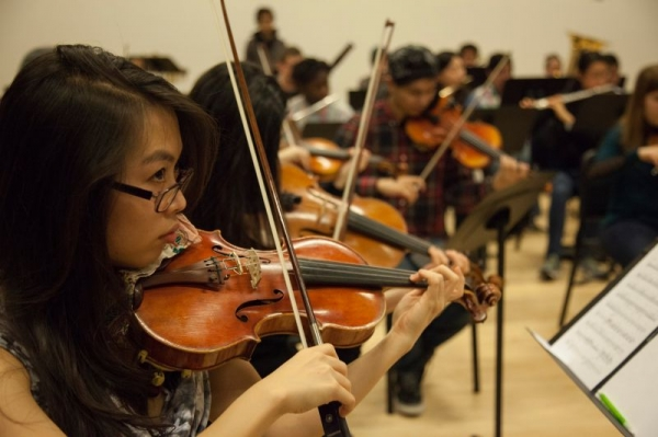 Concertmaster of the Berklee-Boston Conservatory Recording Orchestra