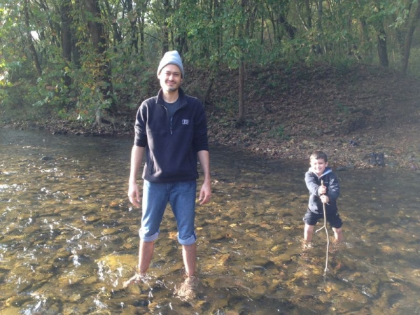 Myself, and my son Gibson enjoying time on the great Buffalo River- one of my favorite destinations.
