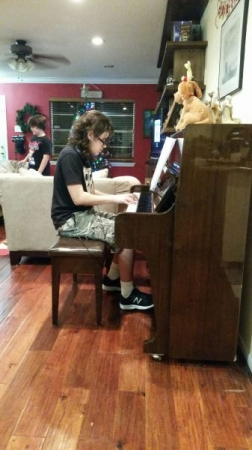 Learned to sight read and memorize music -