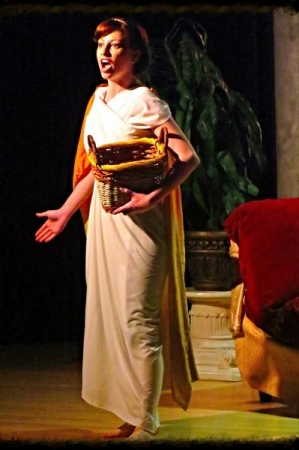 "Viviana's performance in ""Dido&Aeneas"", Purcell"