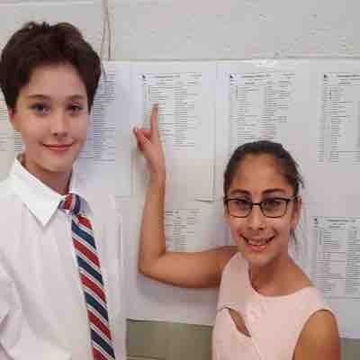 "This violin/cello duo earned a ""superior"" score at Solo & Ensemble Festival!!!"