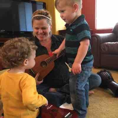 Little Jams music class. Ages 1-3