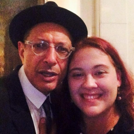 SItting in with Jeff Goldblum in his show at the Carlyle in New York City.