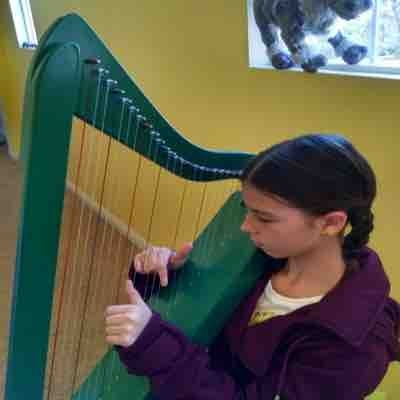 """Harp student and Frozen dress up fun, """"Reindeers Are Better Than People"""""""