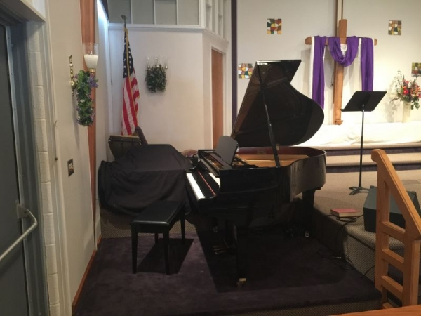 Kawai grand at Fireside studio