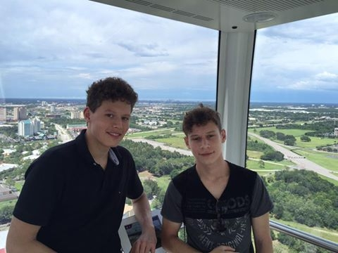 German students off location with George and Sabi @ Orlando Florida  (2016)