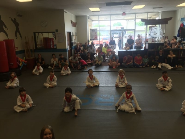 Belt Testing for Little Rhinos ages 3-5