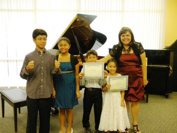Flashback 2011-Annual Spring Recital at the Keyboard Connection.