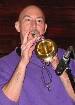 with my custom pocket trumpet