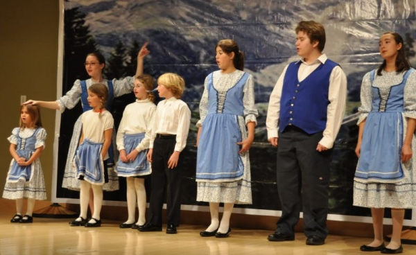 Sound of Music production by Vocal Arts Studios and Ms. Mitchell