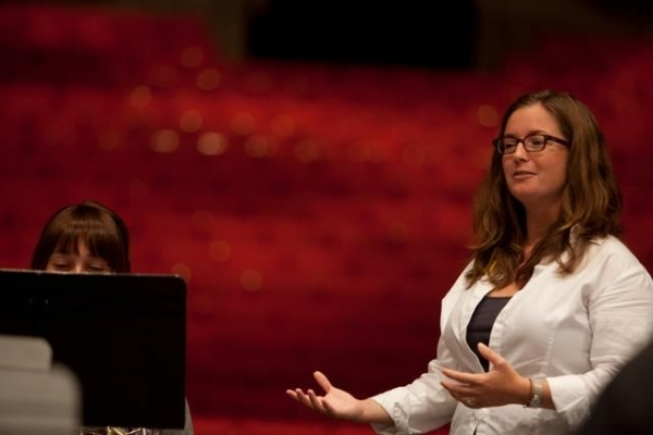 Teaching at Interlochen Arts Academy, Horn Institute, 2012.