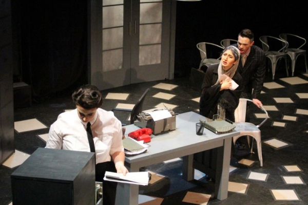 Foreign Woman in The Consul, University of Tennessee Opera Theatre 2015