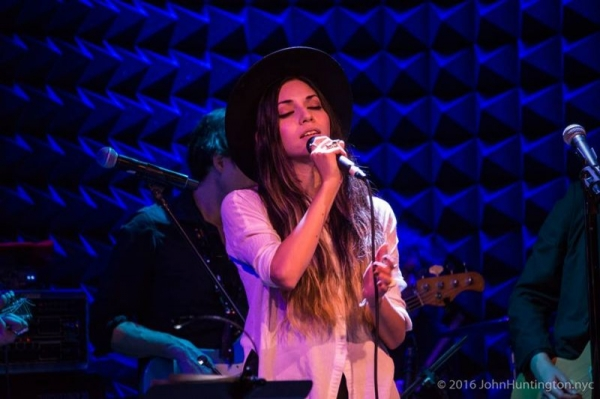 Performing at Joe's Pub.