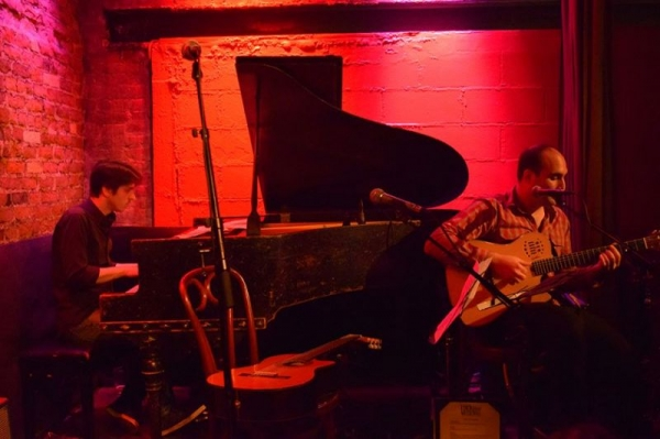 Rockwood Music Hall, NYC with Benji Kaplan (Photo by Simone Cassas)