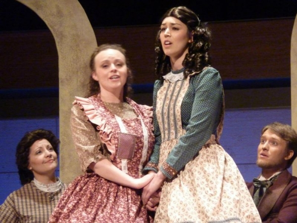 Performing Meg March in the Opera version of Little Women!