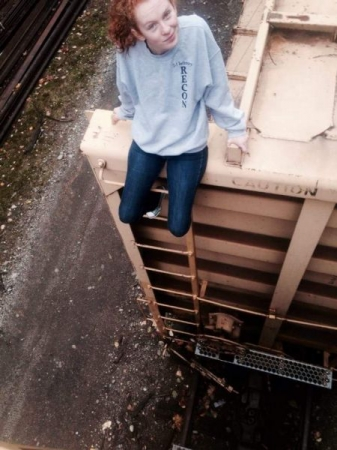 Scaling retired train cars in the PNW