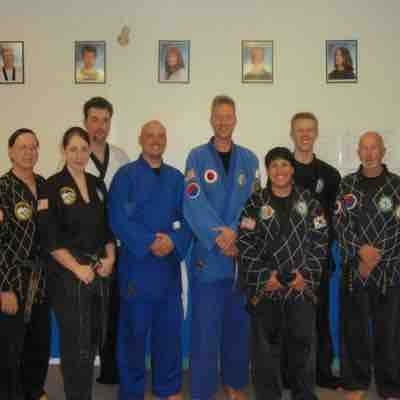 With Master Keller in Brandon