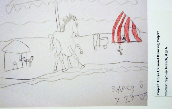 Student: Sydney F. (Age 6)