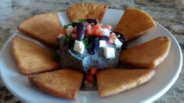 Black bean humus