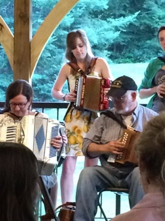 Never too many accordions!