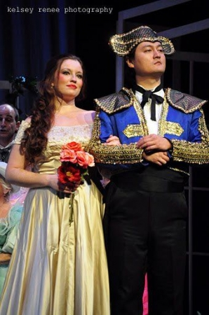 As Ferrando in Mozart's Cosi Fan Tutte (Opera Lancaster, 2011)