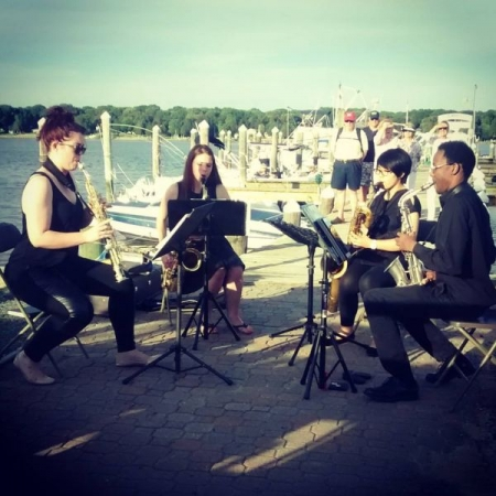 Saxophone Quartet I performed in at the National Music Festival in Chestertown, MD.