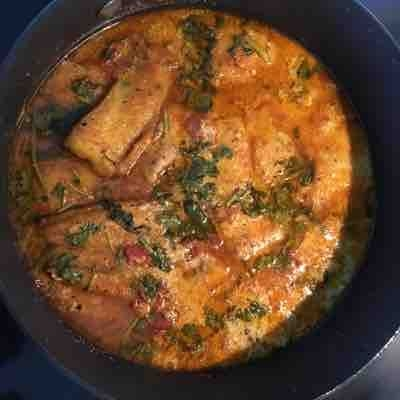 Fish curry (boneless)